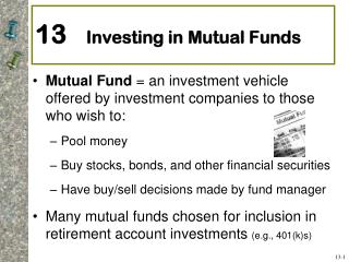 13     Investing in Mutual Funds