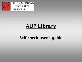 AUP Library