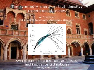The symmetry energy at high density: experimental probes