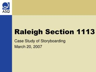 Raleigh Section 1113