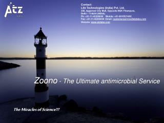 Zoono  - The Ultimate antimicrobial Service