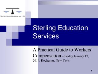 Sterling Education Services