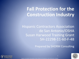 Fall Protection: Competent Person Training A review
