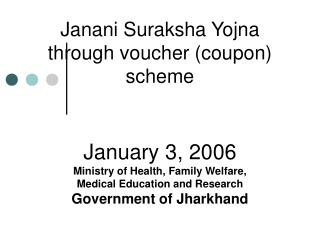 Types of Vouchers (coupons)