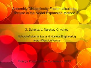 Assembly Discontinuity Factor calculation for use in the Nodal Expansion Method