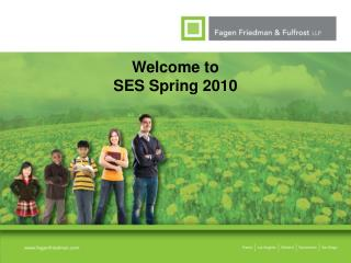 Welcome to SES Spring 2010