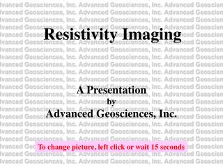 Resistivity Imaging