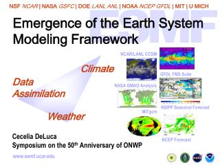 Emergence of the Earth System Modeling Framework