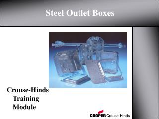 Steel Outlet Boxes