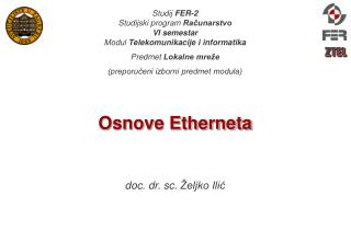 Osnove Etherneta