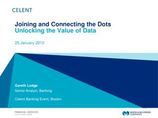 Joining and Connecting the Dots Unlocking the Value of Data