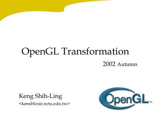 OpenGL Transformation