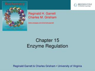 Chapter 15 Enzyme Regulation