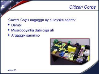 Citizen Corps