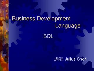 Business Development                             Language