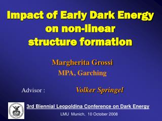 Impact of Early Dark Energy on non-linear             structure formation