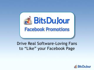 Facebook Promotions