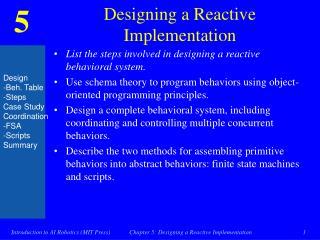 Designing a Reactive Implementation