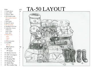 TA-50 LAYOUT