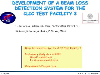 DEVELOPMENT OF A BEAM LOSS DETECTION SYSTEM FOR THE CLIC TEST FACILITY 3