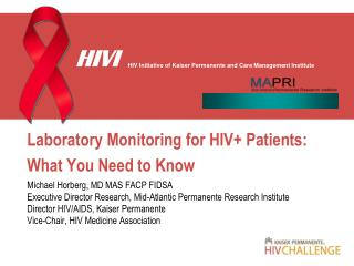 Laboratory Monitoring for HIV+ Patients: What You Need to Know