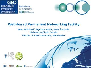 Web-based  Permanent Networking Facility