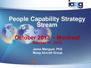 People Capability Strategy Stream