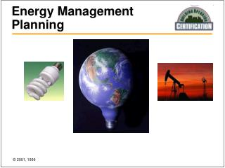 Energy Management Planning