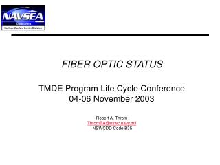 Expanded Fiber Optic Repair Reporting