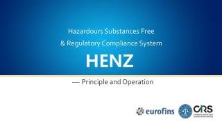 & Regulatory Compliance System