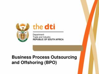Business Process Outsourcing and Offshoring (BPO)