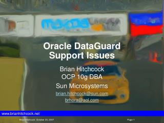 Oracle DataGuard Support Issues