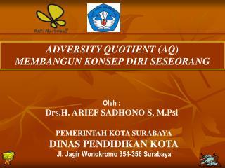 ADVERSITY QUOTIENT (AQ) MEMBANGUN KONSEP DIRI SESEORANG