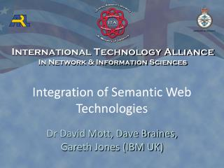 Integration of Semantic Web Technologies