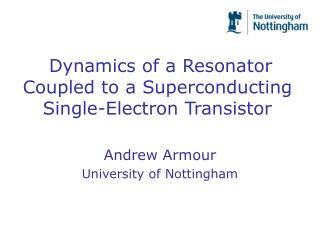 Dynamics of a Resonator Coupled to a Superconducting Single-Electron Transistor