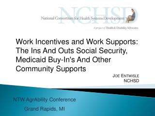 NTW  AgrAbility  Conference Grand Rapids, MI