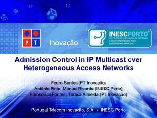 Admission Control in IP Multicast over Heterogeneous Access Networks