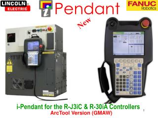 i-Pendant for the R-J3iC & R-30iA Controllers