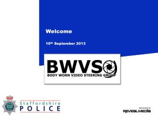 Welcome 10 th  September 2013