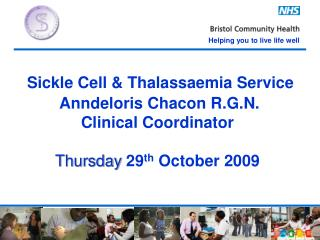 Psychosocial  Aspects of Sickle Cell and Thalassaemia