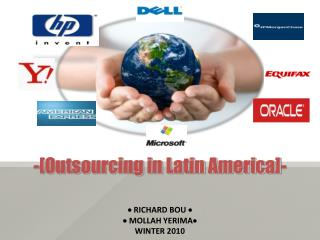 -[Outsourcing in Latin America]-