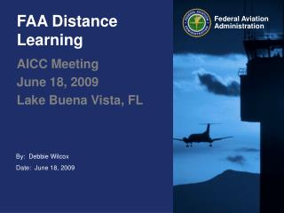 FAA Distance Learning