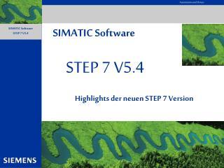 STEP 7 V5.4