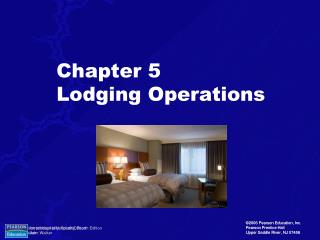 Chapter 5 Lodging Operations
