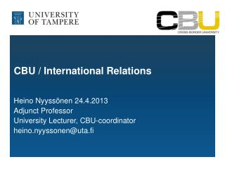 CBU / International Relations