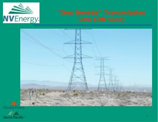 """One Nevada"" Transmission Line (ON-Line)"