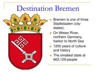 Destination Bremen