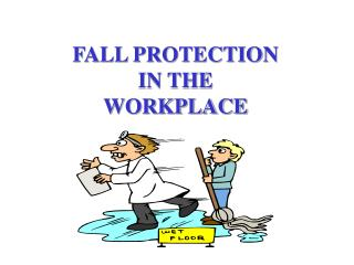 FALL PROTECTION  IN THE  WORKPLACE
