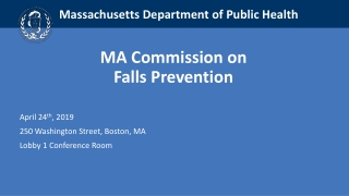 Current Research on Falls Prevention