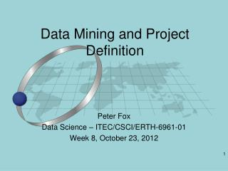 Data Mining and Project Definition